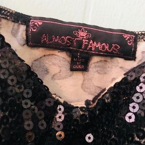 Almost Famous Tops - Almost famous cheetah tank